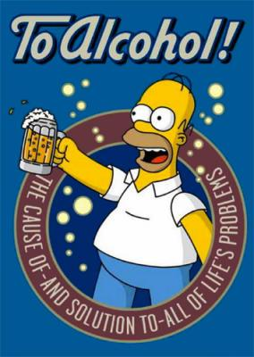 alcohol simpsons