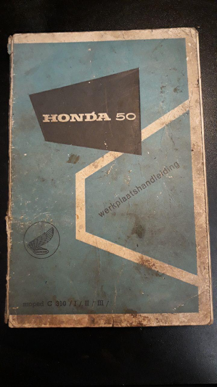 honda c310 workshop manual for sale