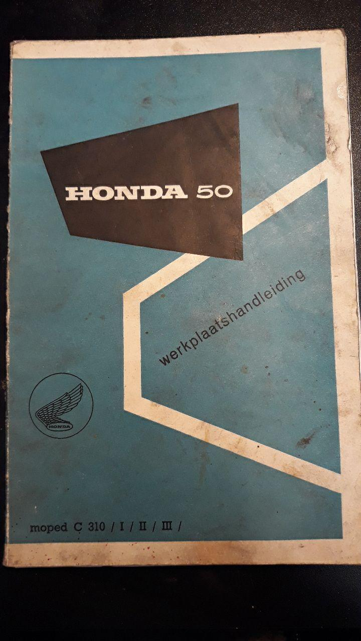 Honda C310A, mk. I, II and III - Workshopmanual - € 22,50