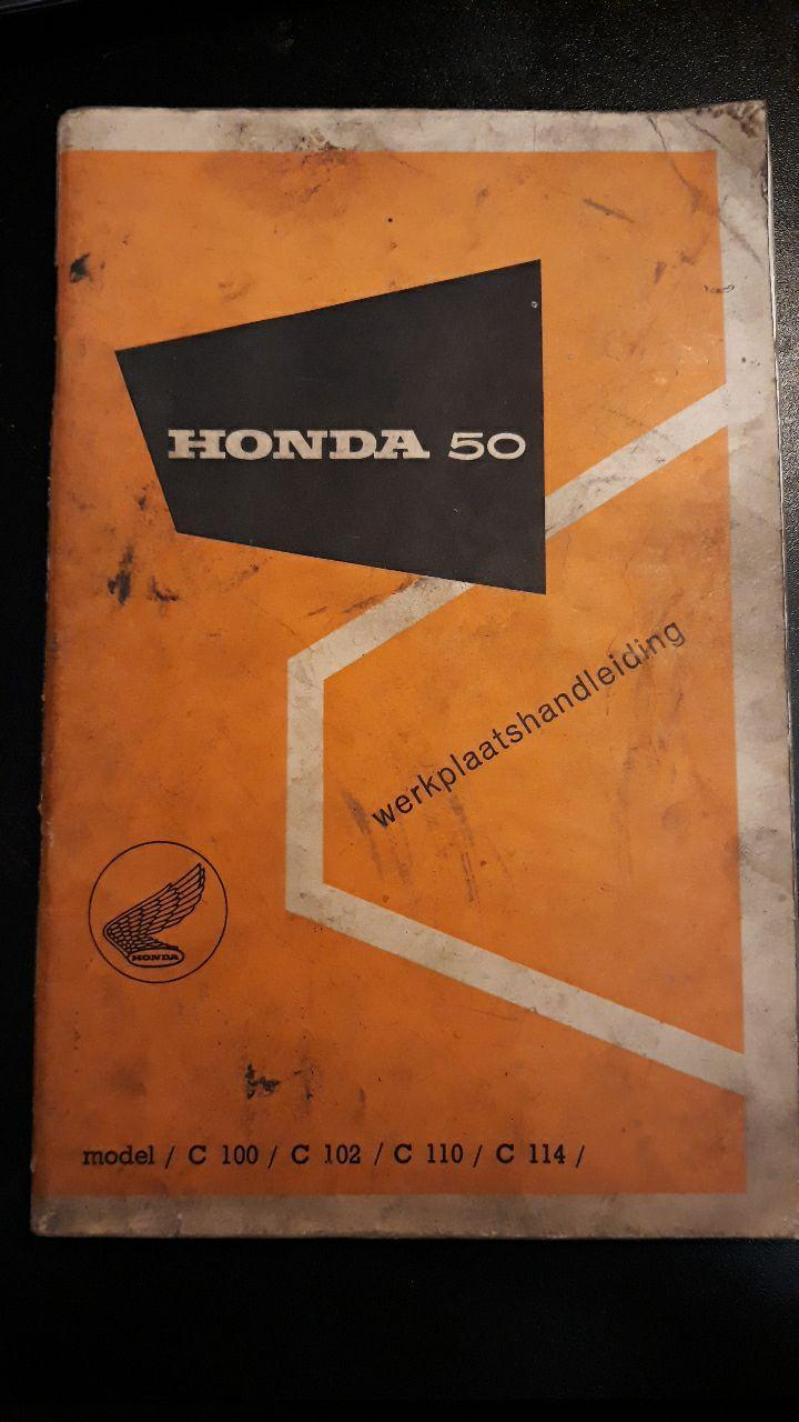 Honda C100, C102, C110 and C114 - Workshopmanual - € 30,00
