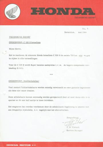 Servicebulletin 04 (1966)