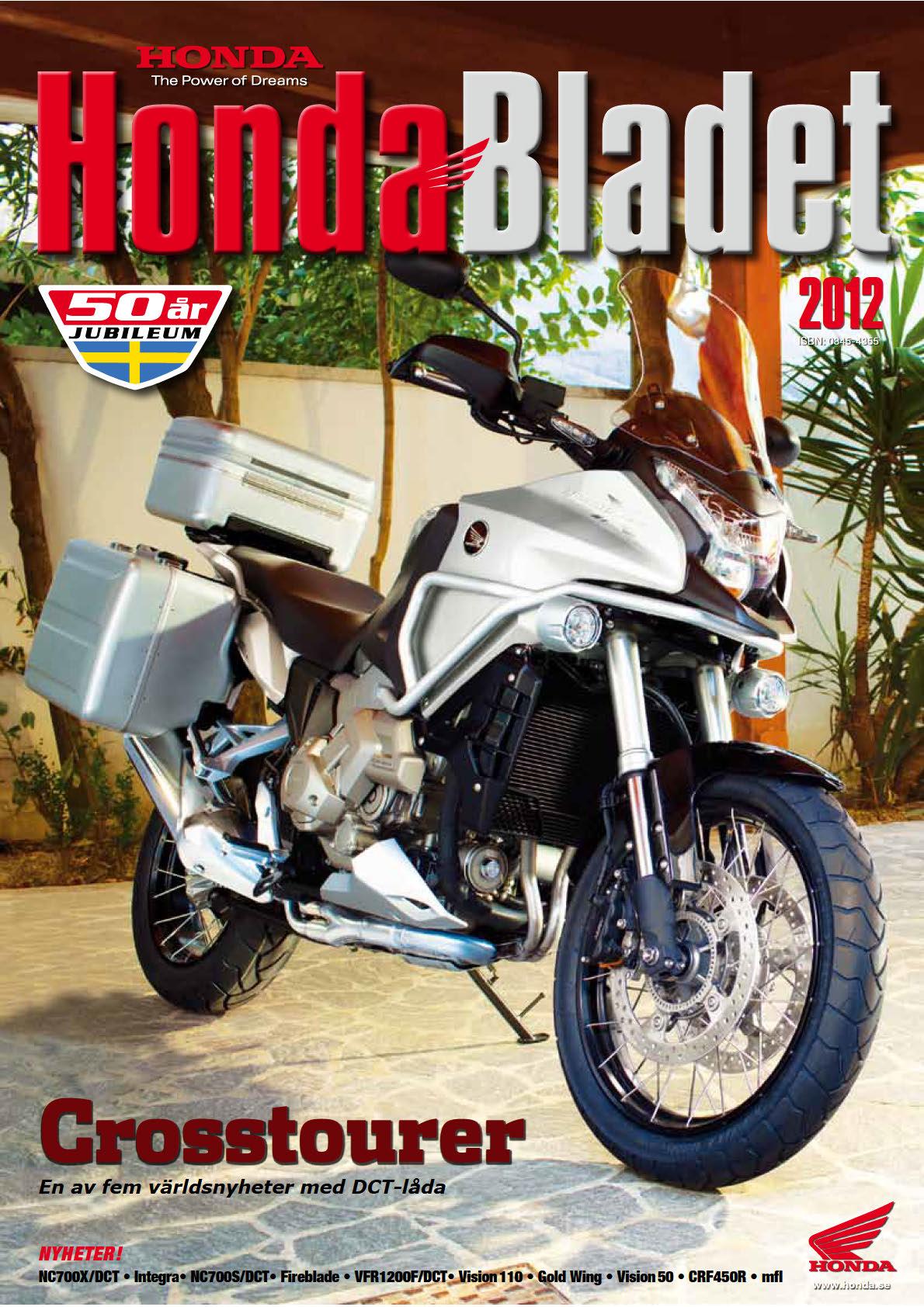Honda Bladet 2012 - 50th anniversary Sweden