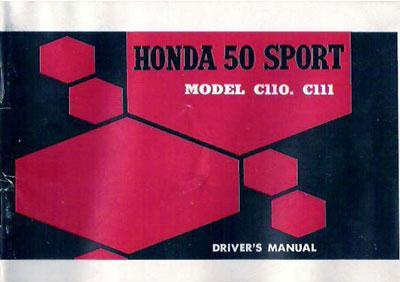 Honda C114 Owner's Manual