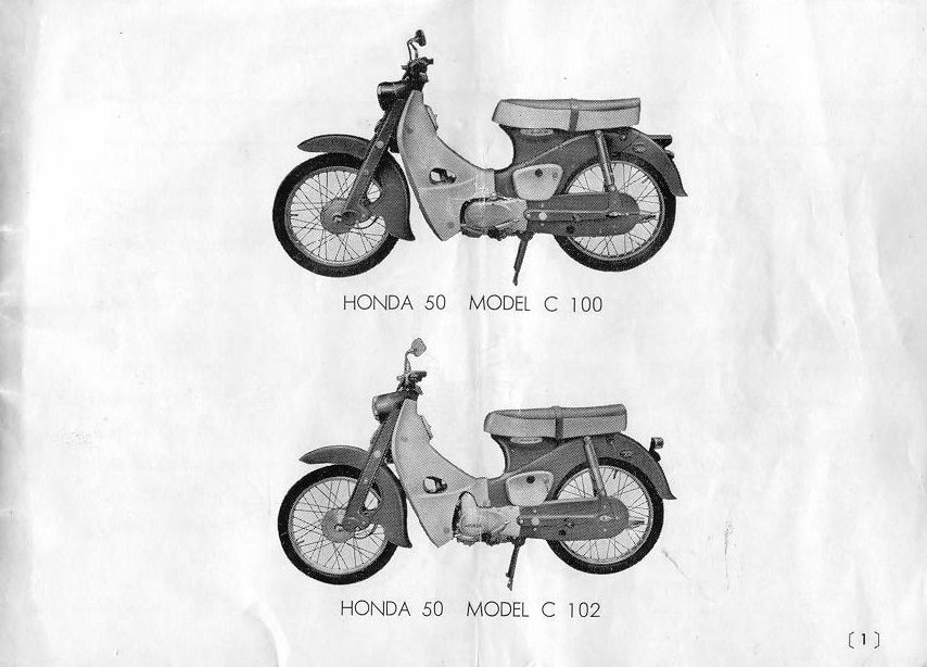 Honda C65 (1967) Owner's Manual