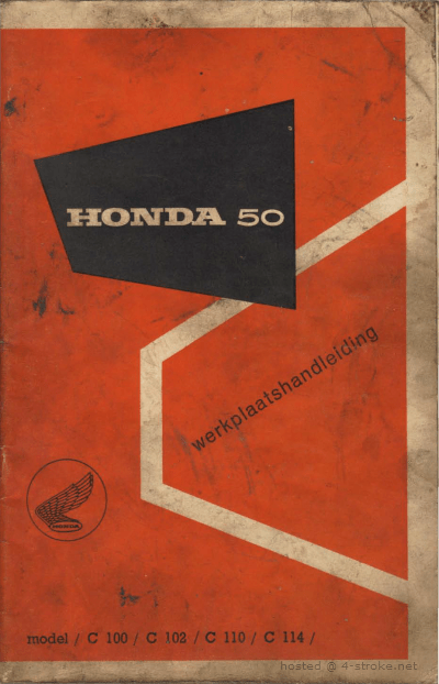 Workshop manual for Honda C114